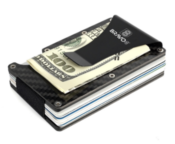 Officers Carbon Fiber RFID Wallet